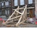 Activité Etaiement  - <p>Etaiement d'urgence - Butonnage de façade rue de Bonnevide suite à un éffondrement de la chaussée</p>